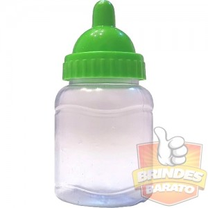 Mini Mamadeira 50ml Bico VERDE CITRICO